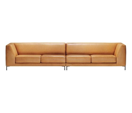 Player Sofa by Neue Wiener Werkstätte | Lounge sofas