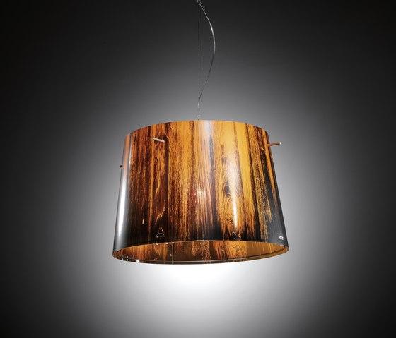Woody suspension by Slamp | General lighting
