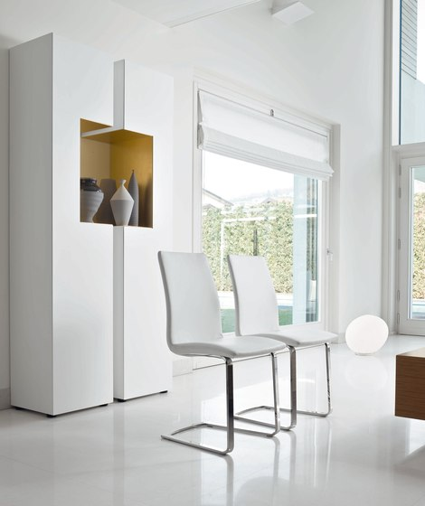 Aria by Bonaldo | Visitors chairs / Side chairs