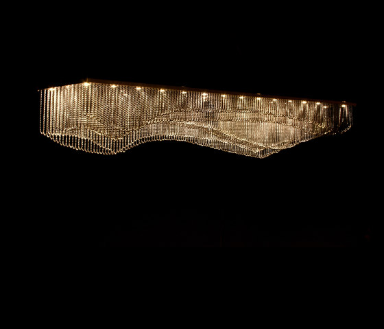 Custom Stream Pendant Lamp by Willowlamp | General lighting