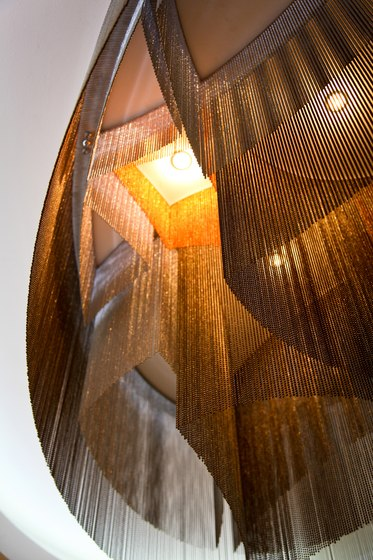 Custom Elliptical Installation by Willowlamp | Lighting objects
