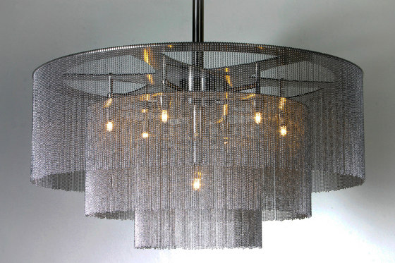 3-Tier - 900 - suspended - custom by Willowlamp | Lighting objects