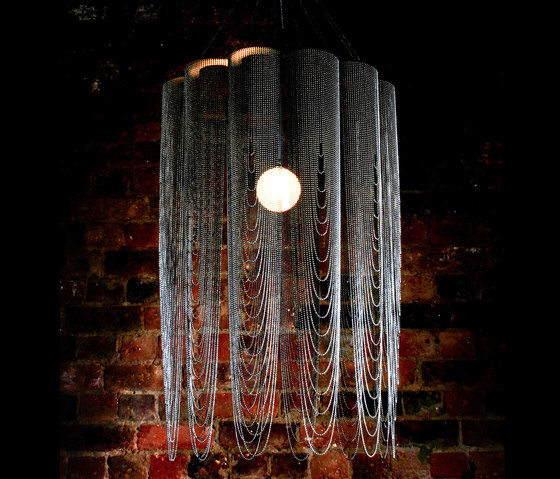 Scalloped Looped 600 Pendant Lamp custom by Willowlamp | Lighting objects