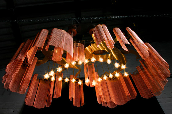 Elongated Faraway Tree - 1600 by Willowlamp | Suspended lights