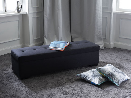 Bench HO 20 by Schramm | Upholstered benches