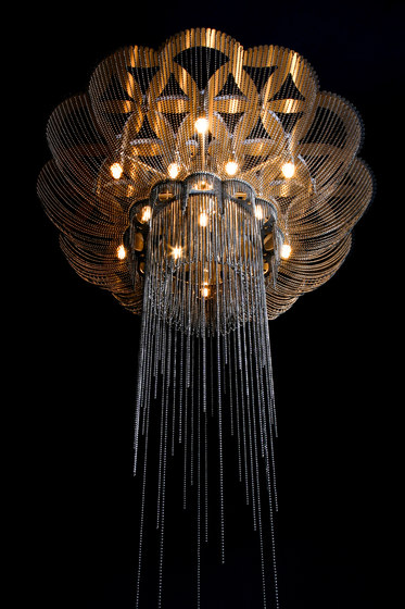 Flower of Life - 700 - ceiling mounted by Willowlamp | Ceiling-mounted lights