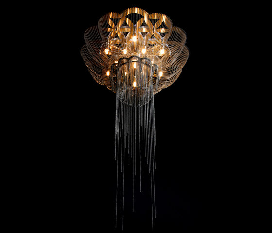 Flower of Life - 700 - ceiling mounted by Willowlamp | General lighting