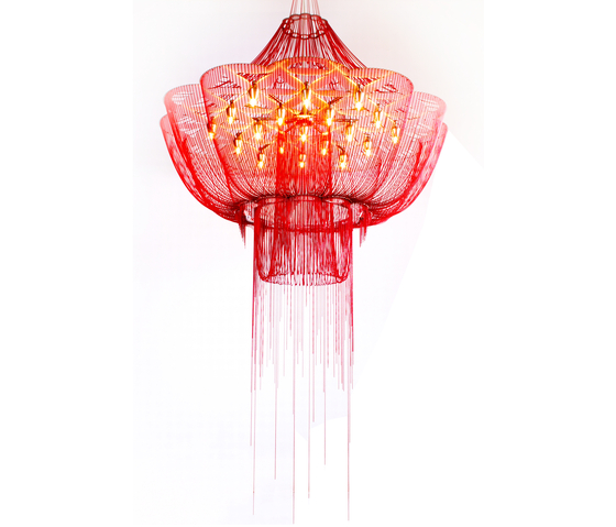 Flower of Life - 1000 - suspended di Willowlamp | Oggetti luminosi