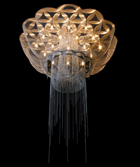 Flower of Life Chandelier Ceiling - 1000 by Willowlamp | General lighting