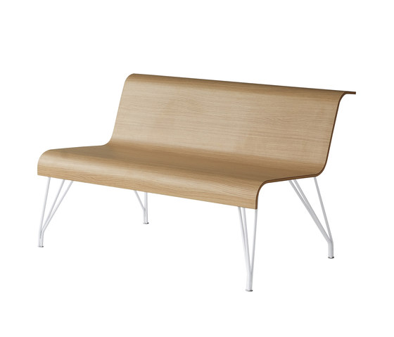 Slim by Fantoni | Waiting area benches