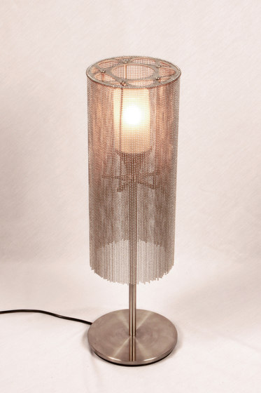 Circular Cropped 150 Table Lamp by Willowlamp | General lighting