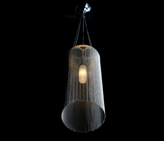 Circular Cropped 150 Pendant Lamp by Willowlamp | General lighting