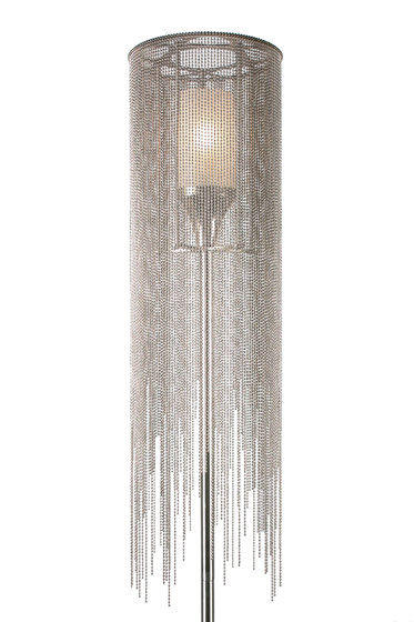 Circular Willow 150 Standing Lamp de Willowlamp | Luminaires sur pied