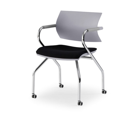 Vanilla hospitality by Fantoni | Visitors chairs / Side chairs