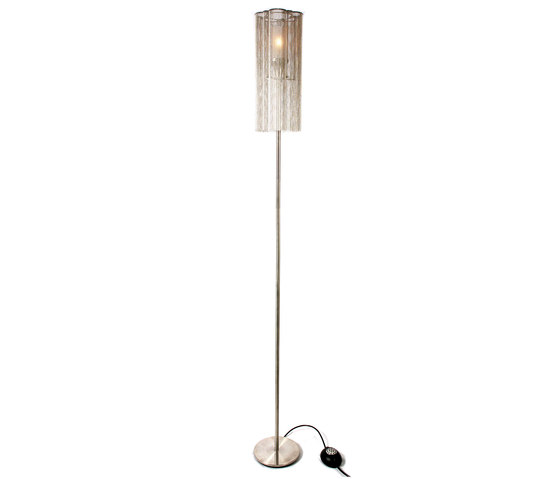 Scalloped Cropped 150 Standing Lamp di Willowlamp | Illuminazione generale