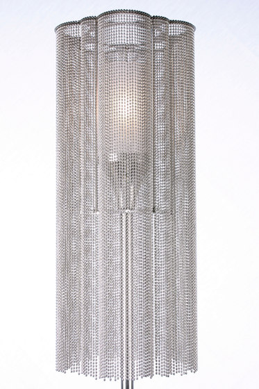 Scalloped Cropped 150 Standing Lamp by Willowlamp | General lighting