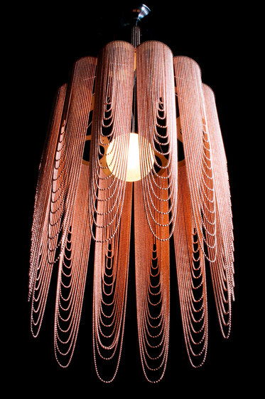 Scalloped Looped 400 Pendant Lamp by Willowlamp | Suspended lights