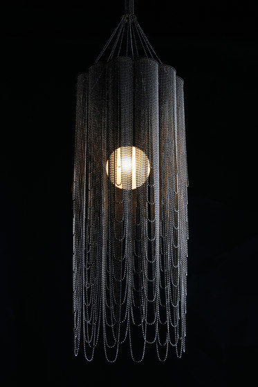Scalloped Looped 280 Pendant Lamp by Willowlamp | Suspended lights