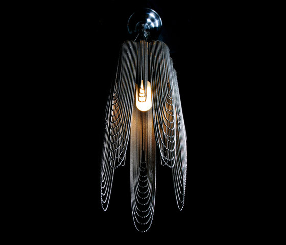 Scalloped Looped 150 Pendant Lamp by Willowlamp | General lighting
