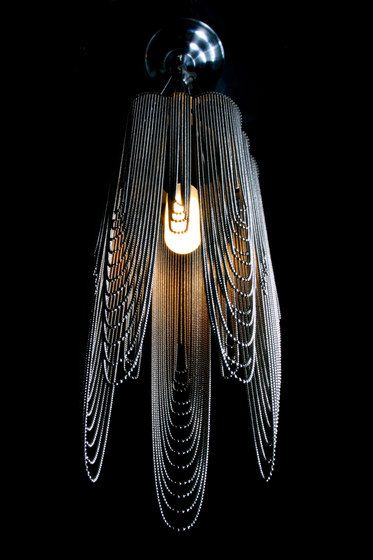 Scalloped Looped 150 Pendant Lamp by Willowlamp | Suspended lights