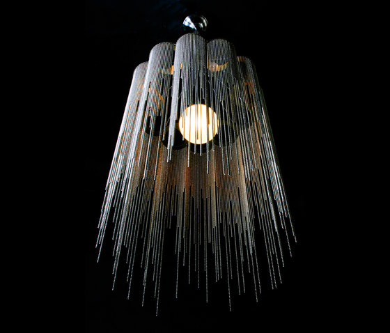 Scalloped Willow 400 Pendant Lamp von Willowlamp | Allgemeinbeleuchtung