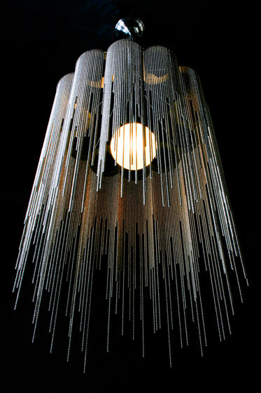 Scalloped Willow 400 Pendant Lamp di Willowlamp | Illuminazione generale