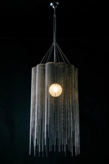Scalloped Willow 400 Pendant Lamp von Willowlamp | Allgemeinbeleuchtung