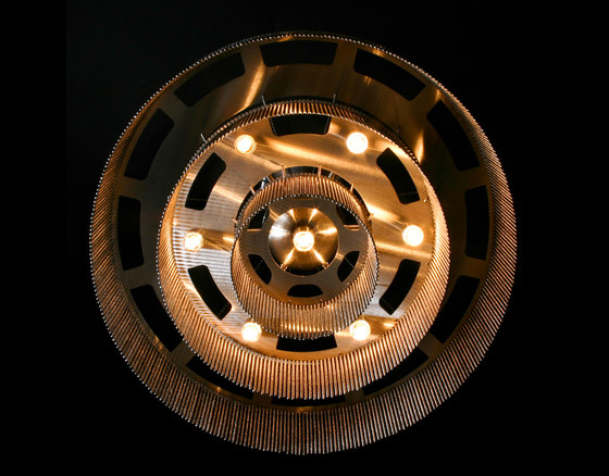3-Tier - 500 - ceiling mounted by Willowlamp | General lighting