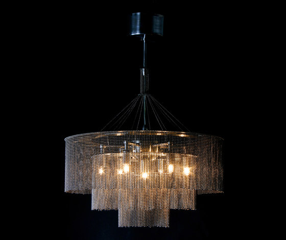 3-Tier - 500 - suspended by Willowlamp | Lighting objects