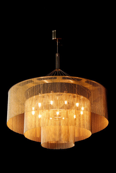 3-Tier - 700 - suspended by Willowlamp | Lighting objects