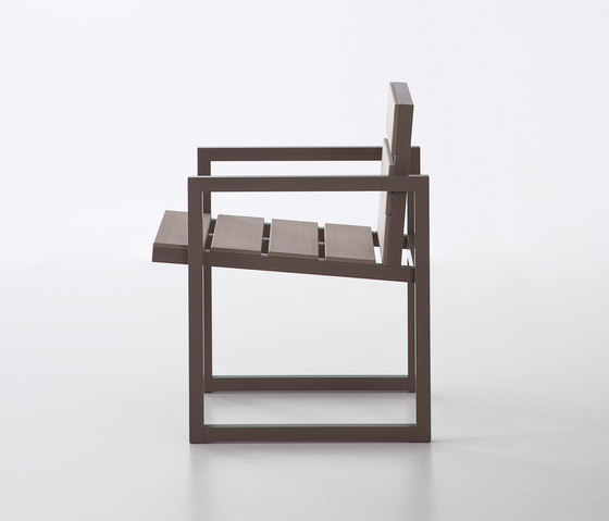 Atlantic chaise* de GANDIABLASCO | Sièges de jardin