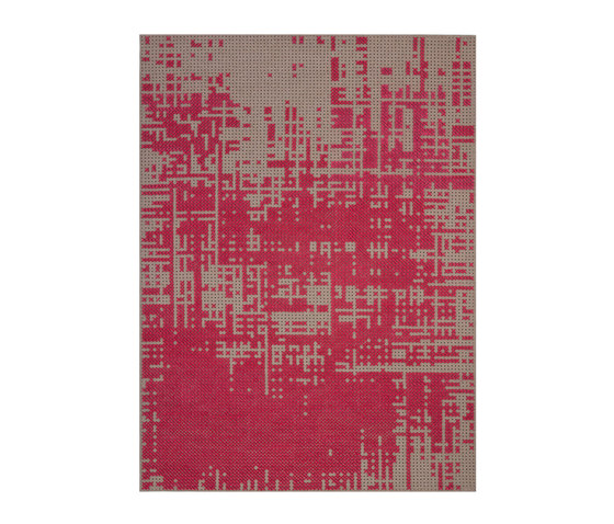 Canevas Rug Abstract Pink 7–8 by GAN | Rugs / Designer rugs