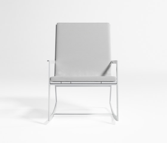 Flat Rocking Chair by GANDIABLASCO | Garden armchairs