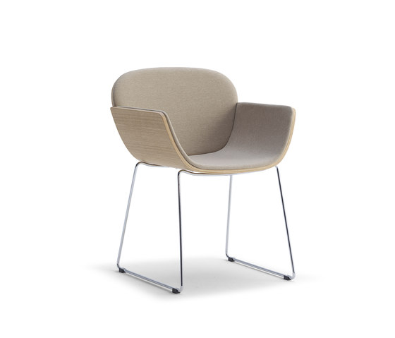 HAIKU A2 by Accento | Visitors chairs / Side chairs