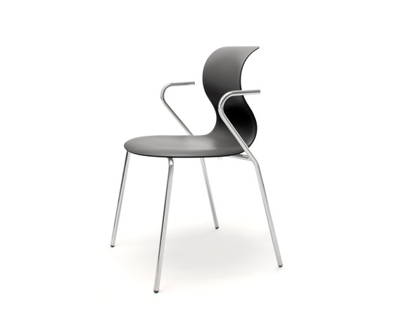 Pro 4 Leg Armrests by Flötotto | Visitors chairs / Side chairs