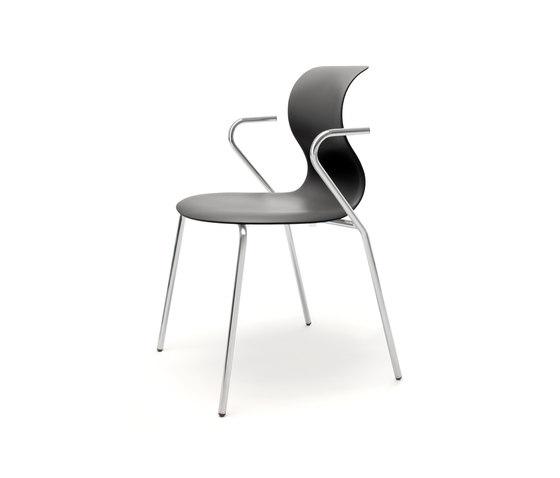 Pro 4 Leg Armrests de Flötotto | Sièges visiteurs / d'appoint