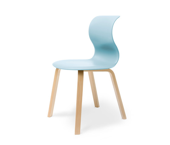 Pro 4 Leg Wood by Flötotto | Restaurant chairs