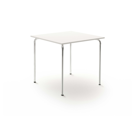 Pro Table 4 Legs Small by Flötotto | Canteen tables