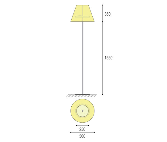 Conical Floorstanding by QC lightfactory | General lighting