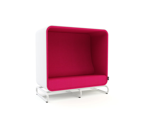 The Box Sofa di Loook Industries | Sedute lounge da lavoro