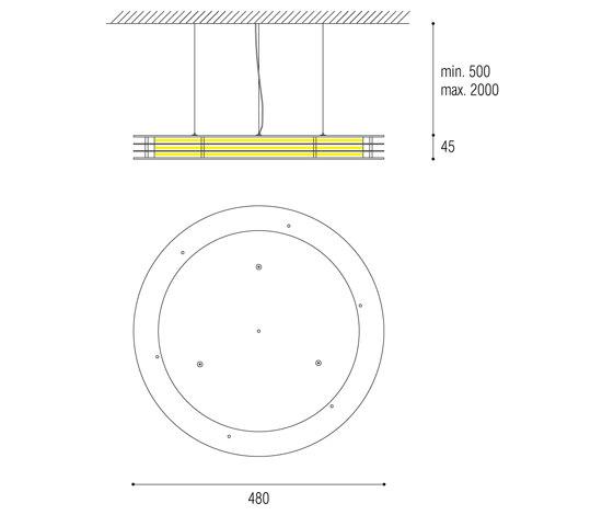 Lamello de QC lightfactory | Suspensions