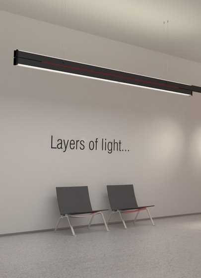 Layer Pendant Up Down by QC lightfactory | General lighting