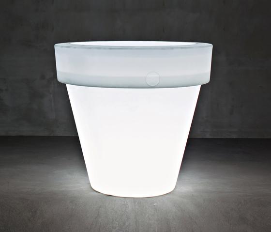 Vas-One BIG-BO Light by Serralunga | Flowerpots / Planters