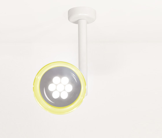 Monocle C1 LED Ceiling by Luz Difusión | General lighting