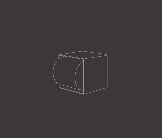 Neutra NEU13 de CEADESIGN | Distributeurs de papier toilette