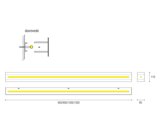 Strack by QC lightfactory | General lighting