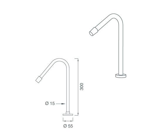 Flex FLX03 by CEADESIGN | Wash-basin taps