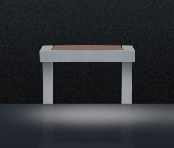 Neo Bench (Small) by QC lightfactory | Path lights