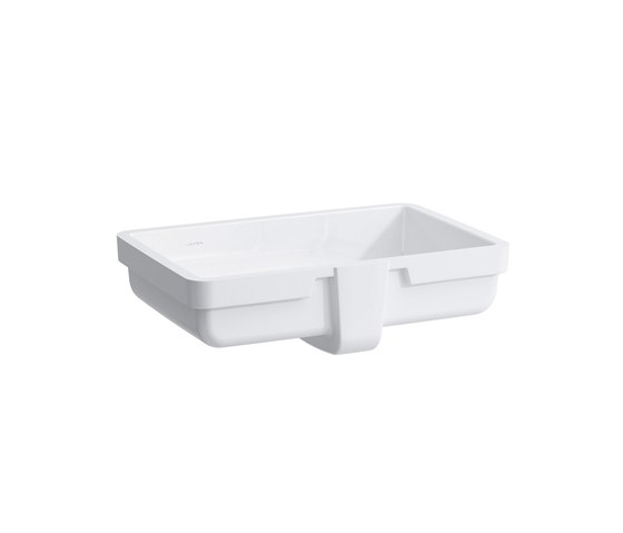 living square Built-in washbasin by Laufen | Wash basins