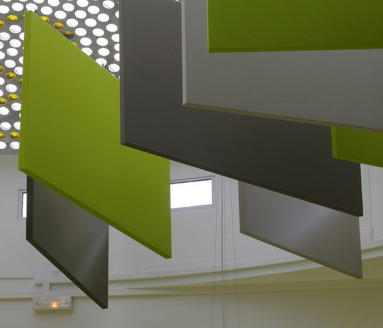 Stereo screens by Texaa® | Suspended panels